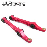 WLR STORE-ALUMINUM FRONT LOWER CONTROL ARM/BAR/ROD+BUSHING FOR CIVIC/DEL SOL/INTEGRA RED,BLUE,BLACK