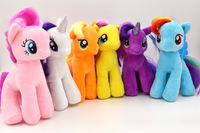 Retail Rainbow Horse Toys For Children 19CM Plush Kids Toys Cute Cartton Brinquedos For Gifts C20