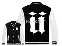 Top quality Unkut Jackets Men's Baseball Fashion Jacket Sport Men jacket Hip Hop coats Unkut Coats Free Shipping Outerwear