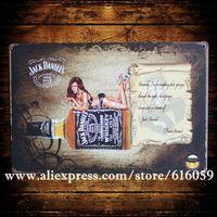 [ Do it ]  Wholesale  Vintage Bar Metal Home Cafe Decor 20*30 CM B-279