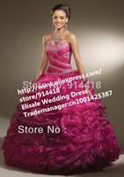 Free Shipping Sweetheart Vestidos De 15 Anos Beading Crystal Organza Ball Gown Vestidos De Quinceanera Floor Length New Dresses
