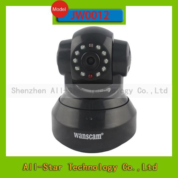 Wanscam JW0012 HD Pan/Tilt Rotate Dual Audio Dome camera Wireless Wifi Network Camara IP I for home Security Surveillance(China (Mainland))