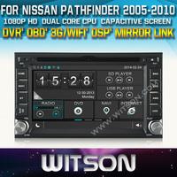 WITSON Car DVD GPS Navigation  for NISSAN QASHQAI Tiida PALADIN NAVARA MICRA PATHFINDER +OBD / Mirror Link supported+ DSP Audio