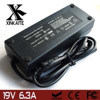 120w 19V 6.3A AC Adapter Charger For ASUS A7k A7t A8 C90s G51j G51vx G53jw G60v N53 N55 N71jq Nx90 M70 Free Shipping