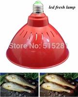 Super bright low luminous decay Epistar chip 18W E27 LED fresh light meat ,freezing ,seafood led bulb lamp free shipping