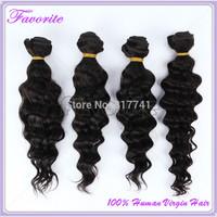6A Human Hair Good Quality Malaysian Virgin Hair Deep Wave 4Pcs Lot Unprocessed Virgin Malaysian Hair Weave Bundles