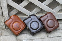 2PCS LEATHER Camera CASE BAG Cover FOR CANON POWERSHOT G11 G12