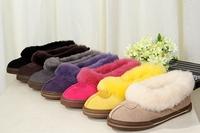 Int'l Brand Australia women Ankle MIni snow boots 1871 slipper Sheepskin real Fur Short  boots winter Warm leather boots