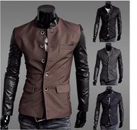 Free Shipping Business men collar Blazer