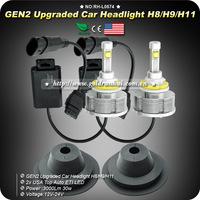 1SET NEW 30W 3000LM H11 6000K Car Bus CREE LED Headlight Bulbs Fog Lamp HID Kit