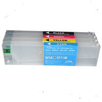 Mimaki JV4 refillable ink cartridge with permanent chip 220ML weak solvent ink cartridges