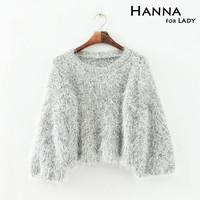 2014 New Arrival Lantern Sleeve Fashion Pullover Sweaters Women Street Wear