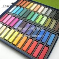 Hot !German Faber-Castell 72 color short branched professional chalk pastels stick hair color chalk Soft pastels pen