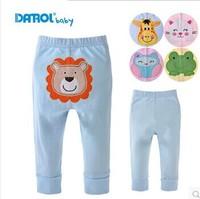 DANROL Baby Cotton Cartoon Embroidery PP Pants