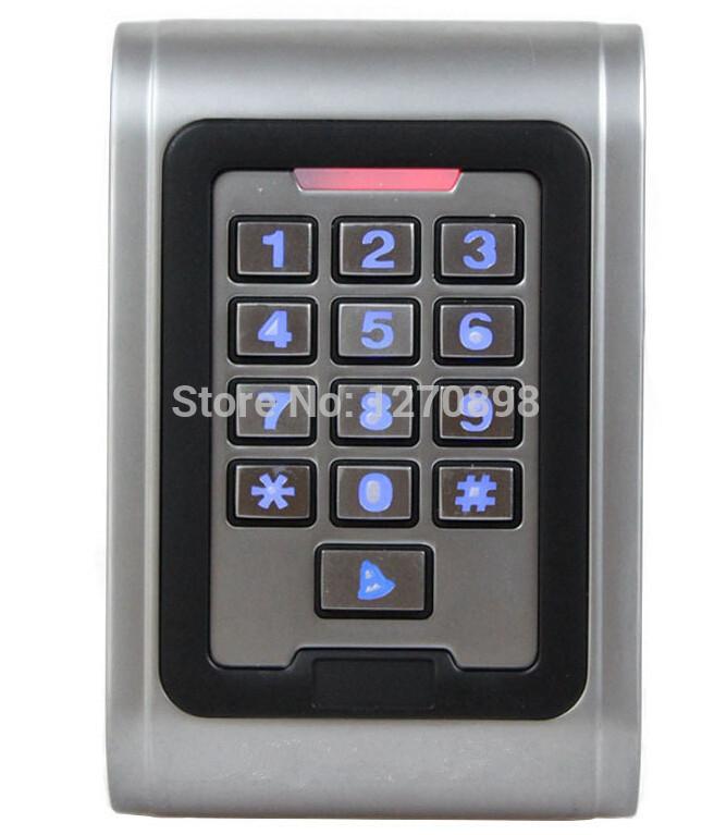 125 khz RFID Proximity Reader Keypad Access Control Security System Kit(China (Mainland))