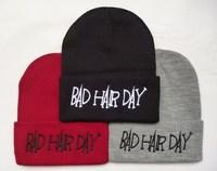 Bad Hair Day beanies hats brand new  men & women's  fashion snapbacks hats bboy hiphop winter spring Skullies