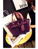 2014New fashion handbag Women bag fashion Europe  style PU leather shoulder bag free shipping
