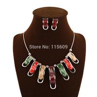 Christmas engagement jewelry sets for women statement wedding jewellery wholesale bijoux