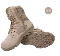 2014 Size 39-45 Good Quality Men Fashion Desert Army Boots Outdoor Shoes Boys Fashion Boots