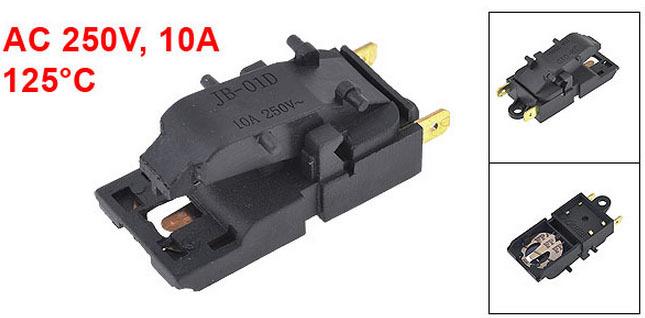 Chaleira elétrica termostato controlador de temperatura 125 C 250 V 10A TM-XD-3 10 pcs(China (Mainland))