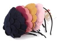 New Petals Hat Hair Hoop Cloth Flower Hair band Accessories