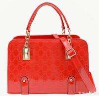 5Colors Designer Women Hangbags Bolsas Femininas Hot Patent Leather PU Crocodile Bags Single Shoulder Bags Female Fashion Tote