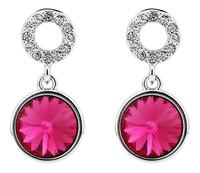 Sumao Women's Lead Free Stud Earrings Rose