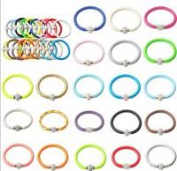 FASHION Mix Crystal Bracelet Leather Wrap Wristband Cuff Punk Magnetic Rhinestone Buckle Bracelet Bangle