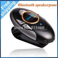 BT8110 Free Shipping Wireless Bluetooth Speakerphone Handsfree Car Kit LCD Display Caller ID Local Phone Number Multi-Language