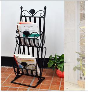 Good margin of wrought iron , wrought iron shelves shelf display shelf display rack Magazine(China (Mainland))