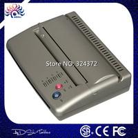 Top quality Brand Silver Original Tattoo Thermal Transfer Copier Printer Stencil Machine use A4 transfer paper Free Shipping #T