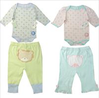 cute cartoon long sleeve infant baby clothing sets,1 romper+1 pants bebe conjuntos newborn clothes baby boys girls disfraz bebe