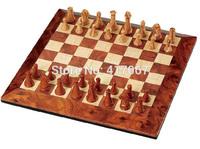 Brand Classic Wood Champions Chess Set Board Game Wooden Chess Pieces Magnetic Board tabuleiro jogo de xadrez checkers