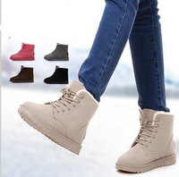 2014 Europe America snow boot Wedges Martin women ankle boots motorcycle military  platform leather boots channel shoes X506