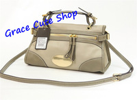 Lady Handbag Brand Casual Bag Calfskin Leather 3Color Logo Printed Top Quality Original Package (Tags,Dust Bag,Card) #MUL8399