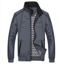 Осень весна 2014 SEPTWOLVES куртка стоят-воротник куртки мужская одежда поло куртки спортивный пальто Большой размер 4xl, 5xl(China (Mainland))