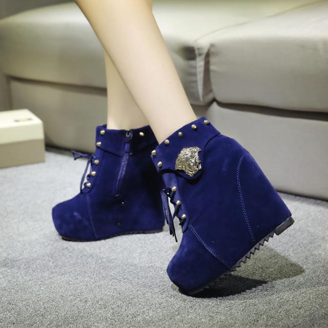 get cheap wedge heel winter boots aliexpress
