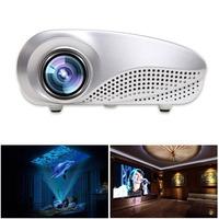 Newest 200lumens Tripod 3D projector LED Portable Video Pico Micro Small Mini Projector VGA TV HDMI USB AV