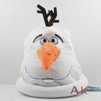 18cm  big hat cap Frozen Olaf Snowman Movie Plush Toy Stuffed Animals High quality Toys kids best gift