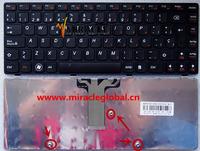 Original spains letter Keyboard for Lenovo g470 g475  laptop spains version black laptop keyboard 48-10185