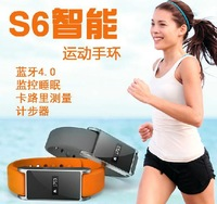 S6 Smart Bluetooth watch bracelet watch / FOR Apple Samsung millet phone companion / Sports pedometer OLED