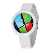 Dropshipping 2015 fashion casual watch quartz ladies silicone sport wristwatch women dress brand watches