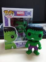 1 pc 2014 new funko pop Avengers the Hulk vinyl figure 3.75 inch vinyl doll child toy free shippping