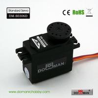 DOMAN RC DM-S0306D 38g/0.14s/3.5kg.cm POM gear 360degree robot used 3kg digital servo