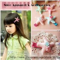 Fashion Children Hair Accessories Children Starfish Hair Clip Hairpins Wholesales