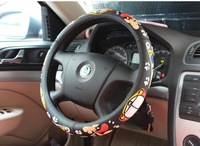 free shipping Hot Selling Popular Cute Girl Garfield car steering wheel cover ST-12 Garfield car accessories