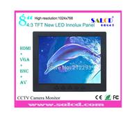 alibaba  express! 8  inch  lcd monitor with  vga rca hdmi bnc  input for Surveillance +1080p HDMI