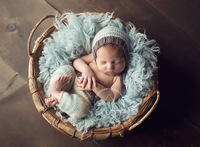 Popular Items for bebe Studio Children Cothes Newborn Babies Boy Handmade Sweater Suits Hand-knitted Photo Prop Croche Clothing
