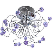 NEW  Free Shipping 9 - Light Crystal Ceiling Light Chandelier