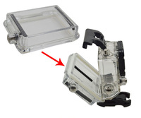 Gopro hero3 Backdoor Case Cover Gopro Bacpac LCD Screen LCD Panel Waterproof Case Cover For Gopro Hero3 Housing